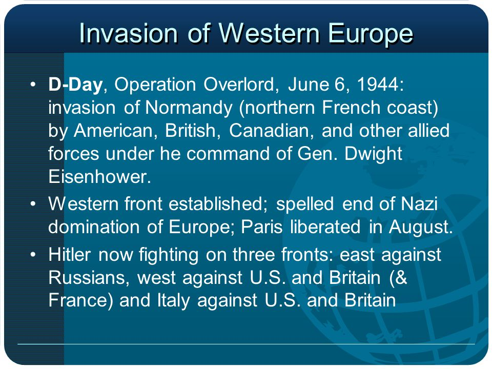 Invasion of Western Europe