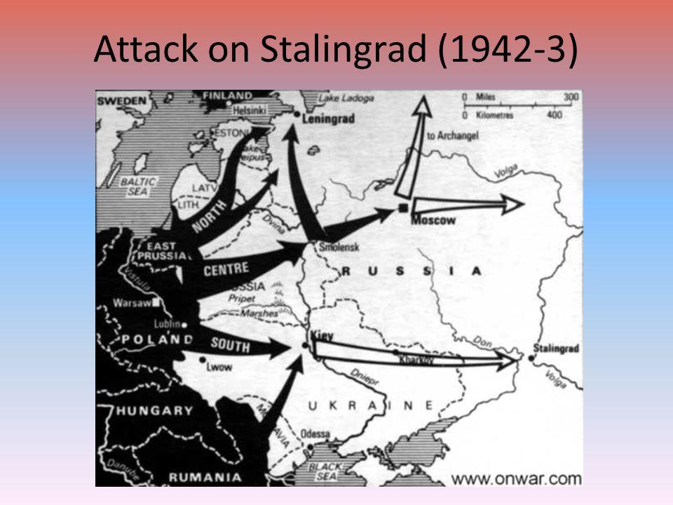 Attack on Stalingrad (1942-3)
