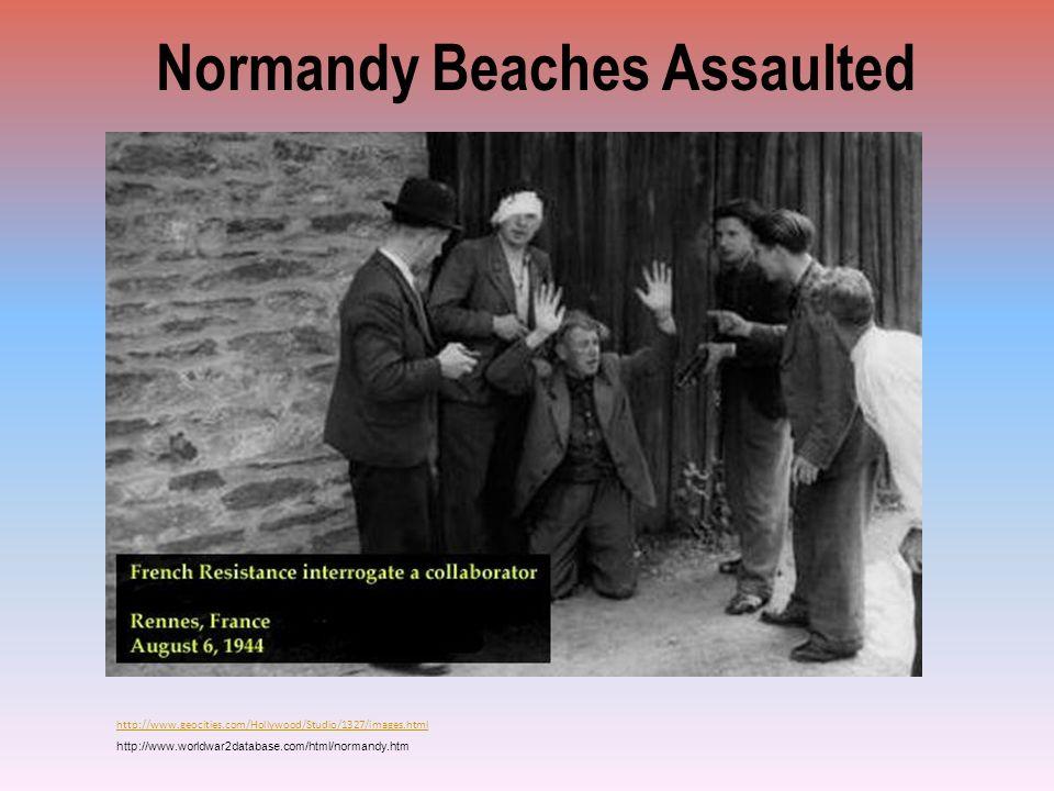 Normandy Beaches Assaulted