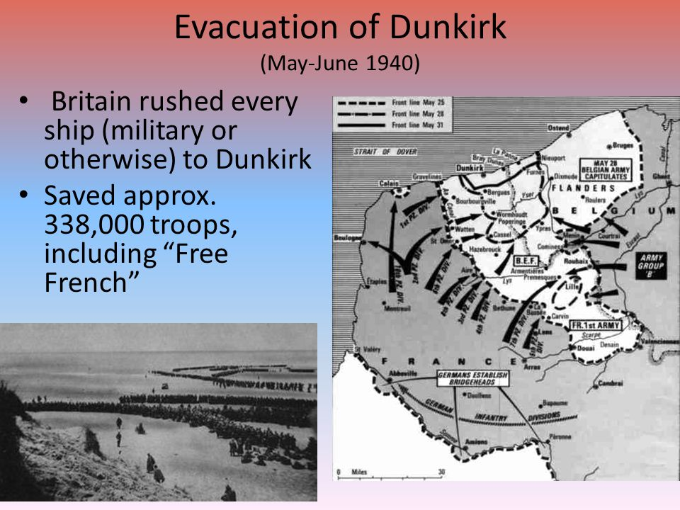 Evacuation of Dunkirk (May-June 1940)