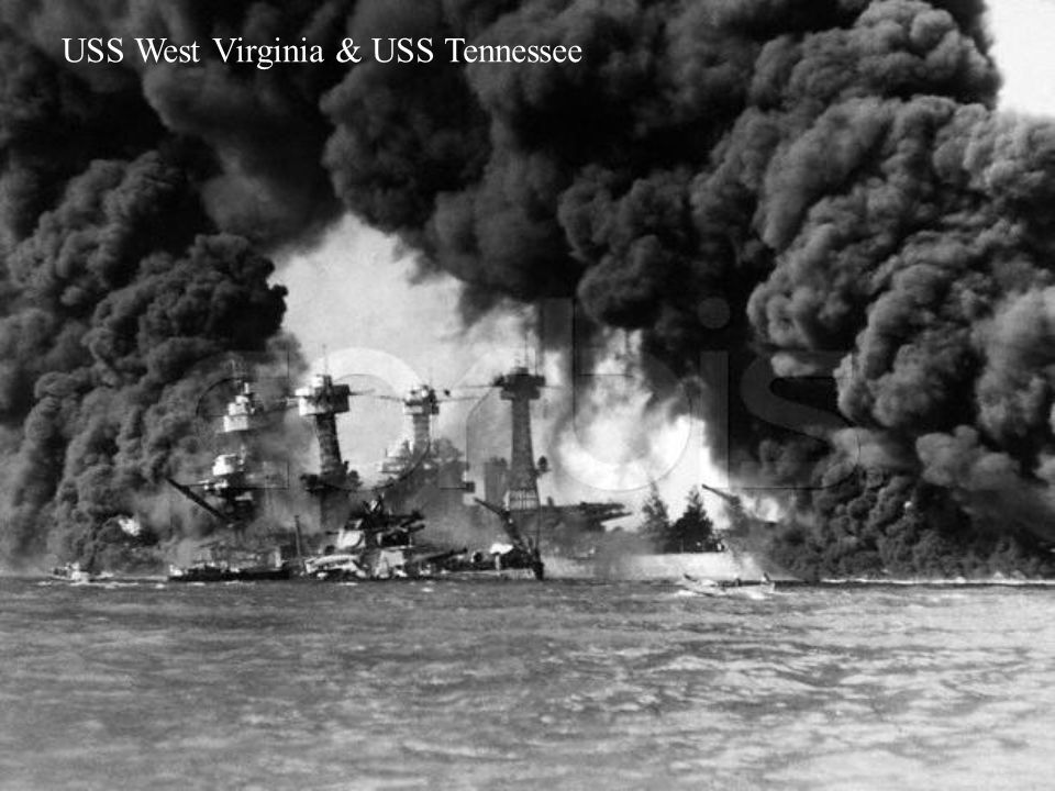 USS West Virginia & USS Tennessee