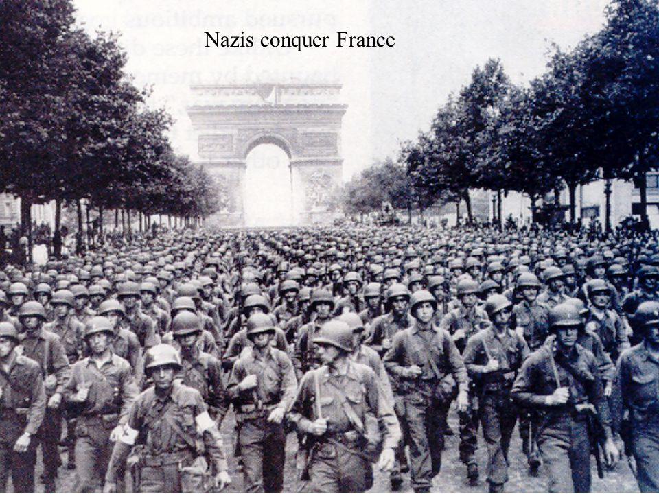 Nazis conquer France