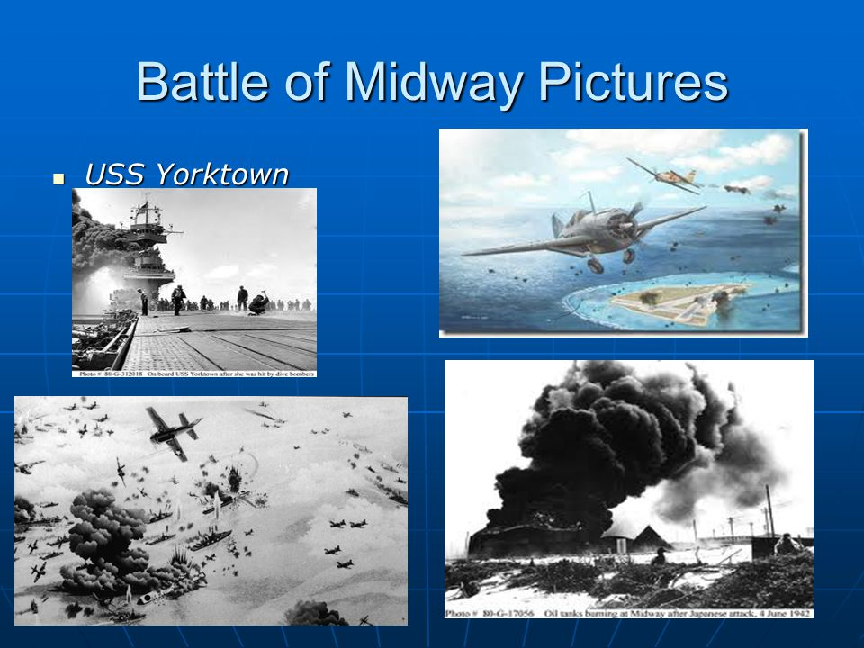 Battle of Midway Pictures