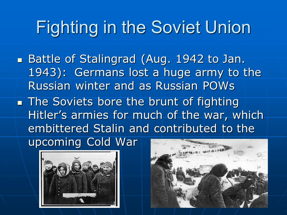 Fighting in the Soviet Union