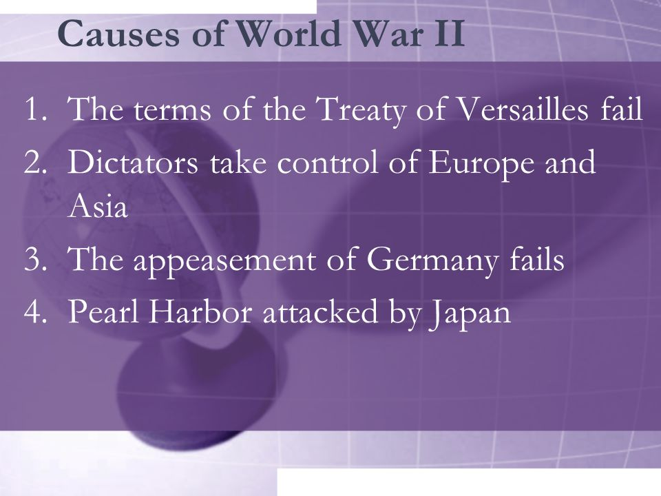 treaty of versailles cause of world war 2 essay This 5 page world war two (wwii) document contains the transcript of a speech   hitler rise of power essay lord power hitler lord essay of rise essay writing  format in english essay about  did the treaty of versailles cause world war  two.