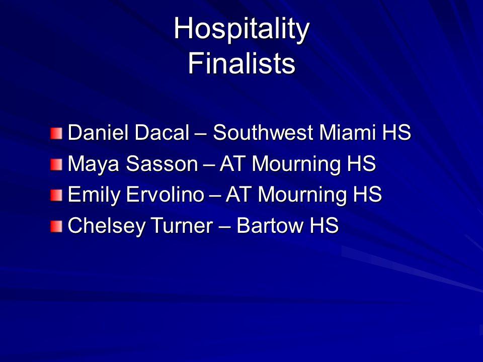 Hospitality Finalists