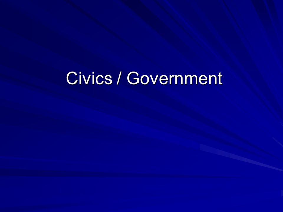 Civics / Government