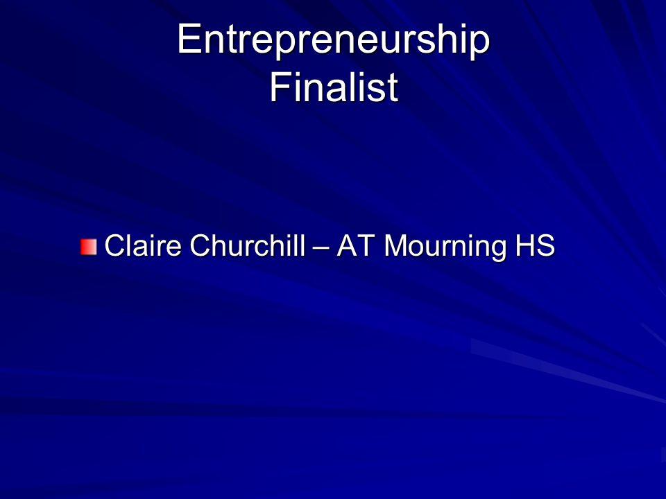 Entrepreneurship Finalist