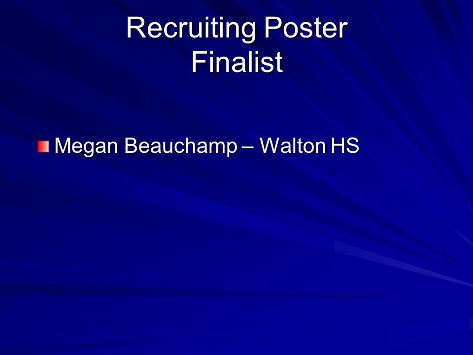 Recruiting Poster Finalist