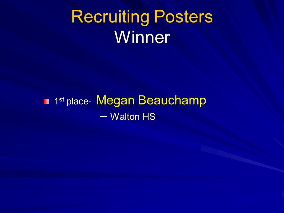 Recruiting Posters Winner