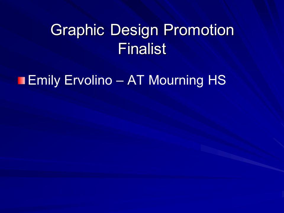 Graphic Design Promotion Finalist