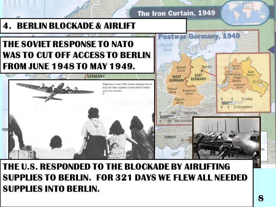 4. BERLIN BLOCKADE & AIRLIFT