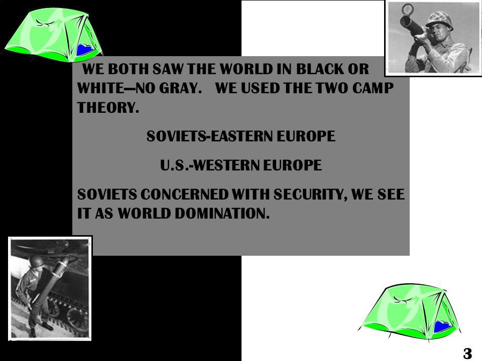 SOVIETS-EASTERN EUROPE