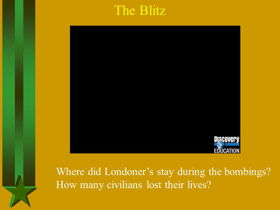 The Blitz Where did Londoner's stay during the bombings