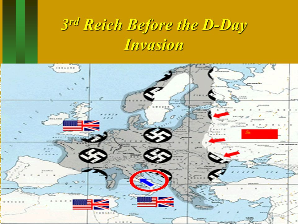 3rd Reich Before the D-Day Invasion