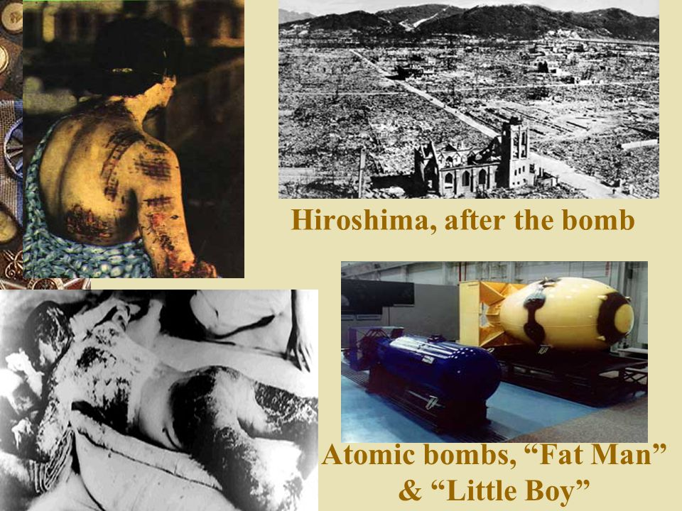 Hiroshima, after the bomb