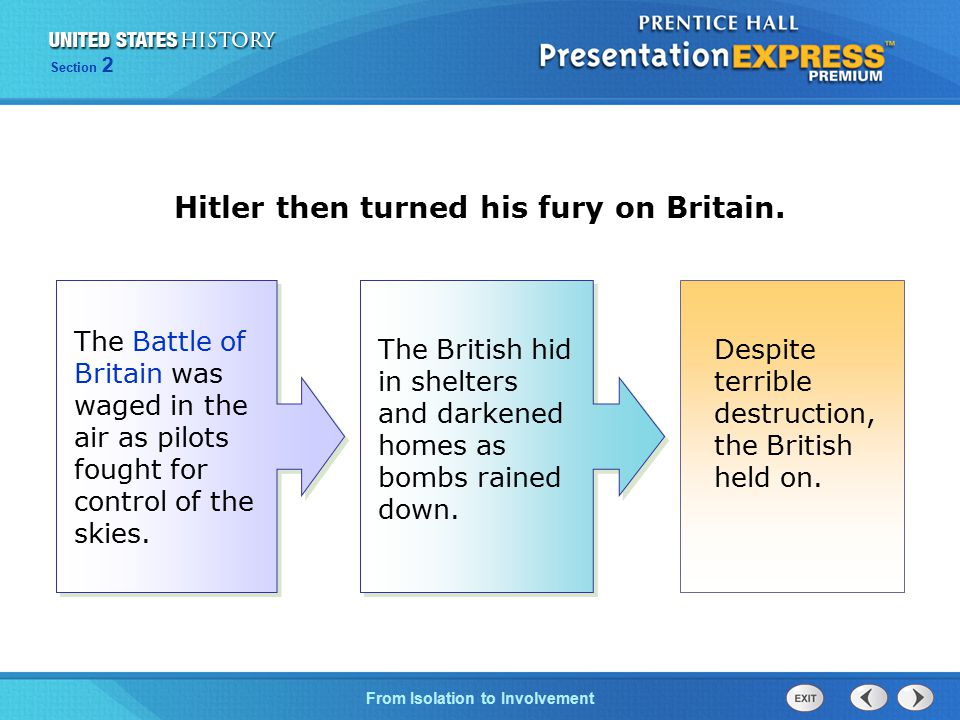 Hitler then turned his fury on Britain.