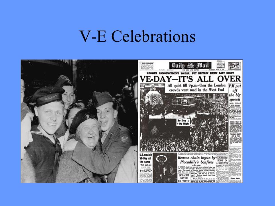 V-E Celebrations