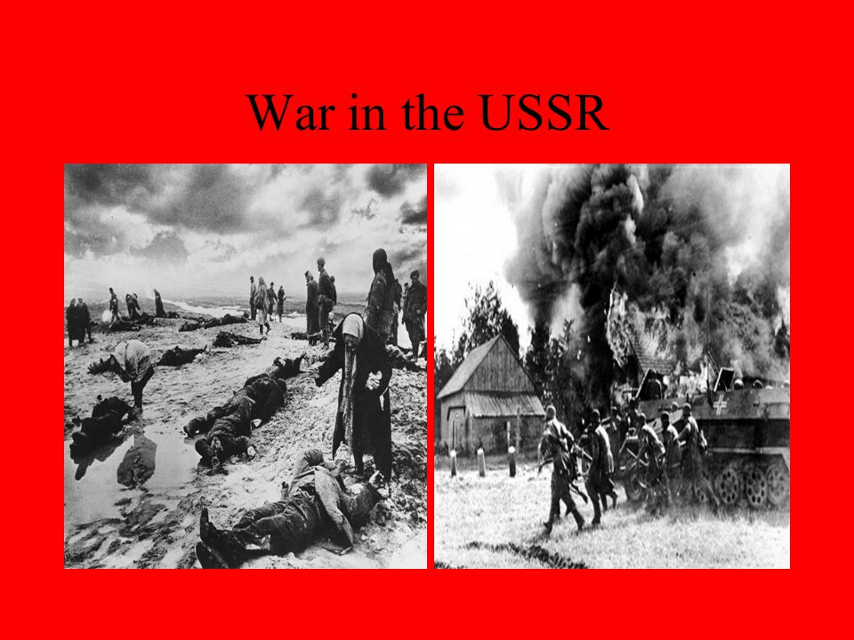 War in the USSR