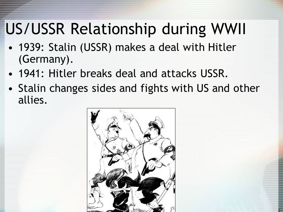 us and ussr relationship 1930s