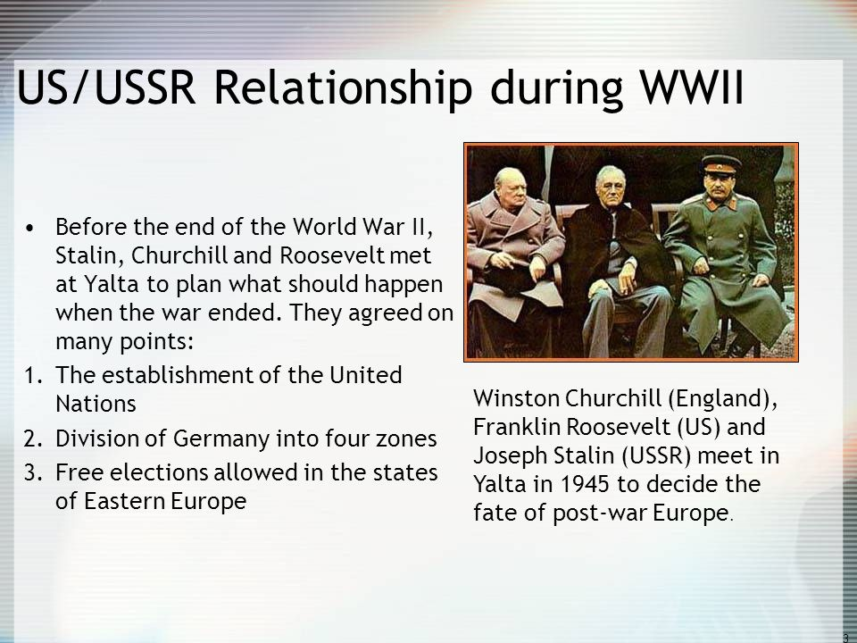 us and ussr relationship after ww2 the allies