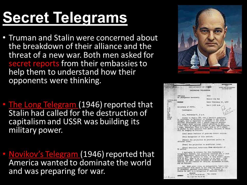 Secret Telegrams