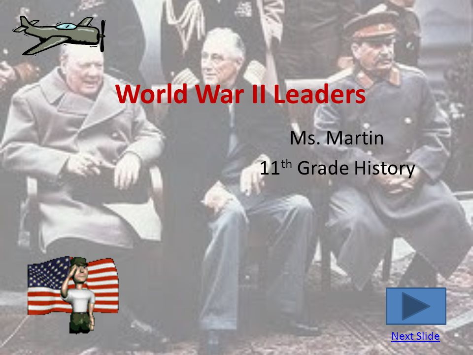 Ms. Martin 11th Grade History