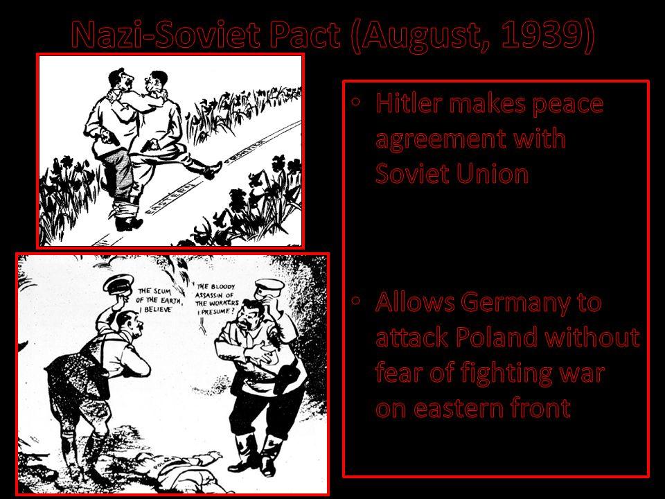 Nazi-Soviet Pact (August, 1939)