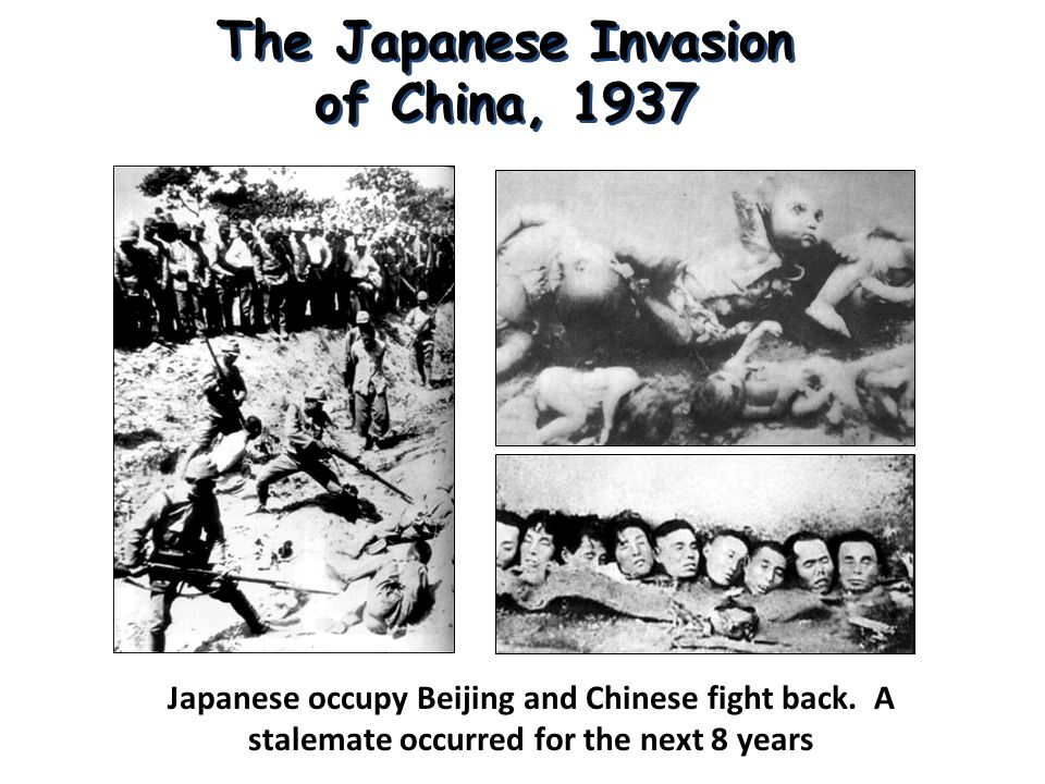 The Japanese Invasion of China, 1937