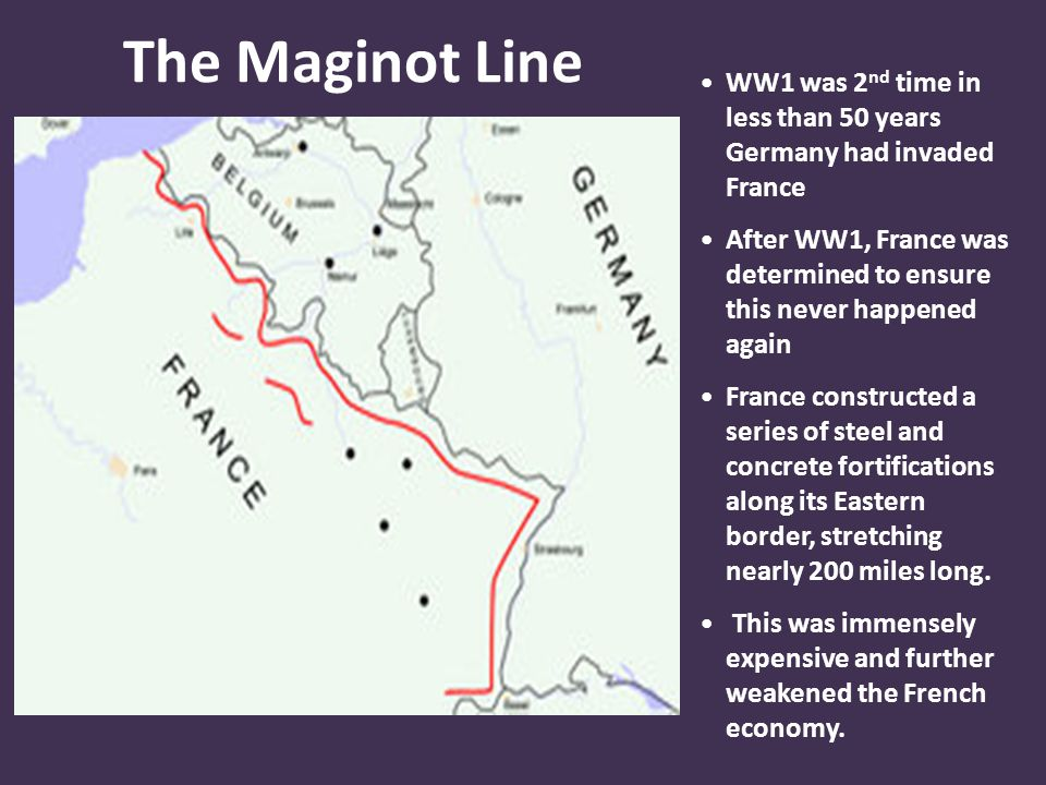 WW1 was 2nd time in less than 50 years Germany had invaded France