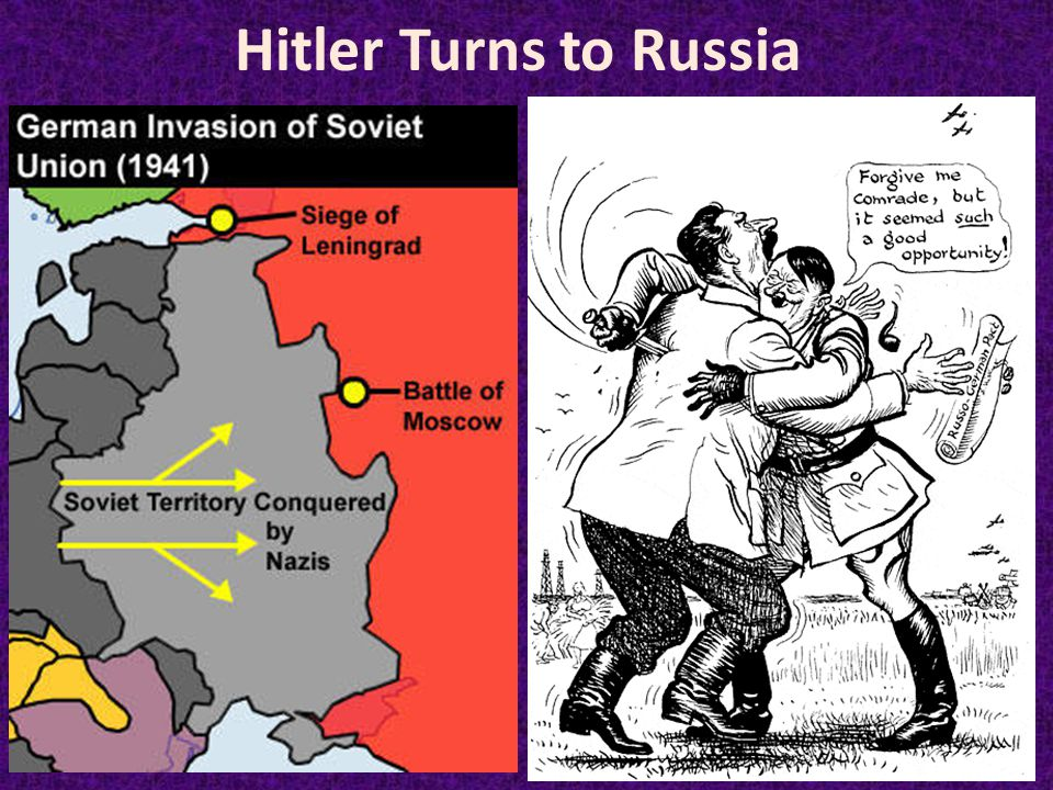 Hitler Turns to Russia