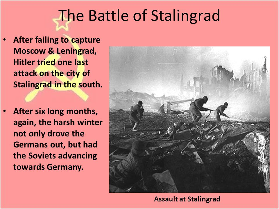 The Battle of Stalingrad