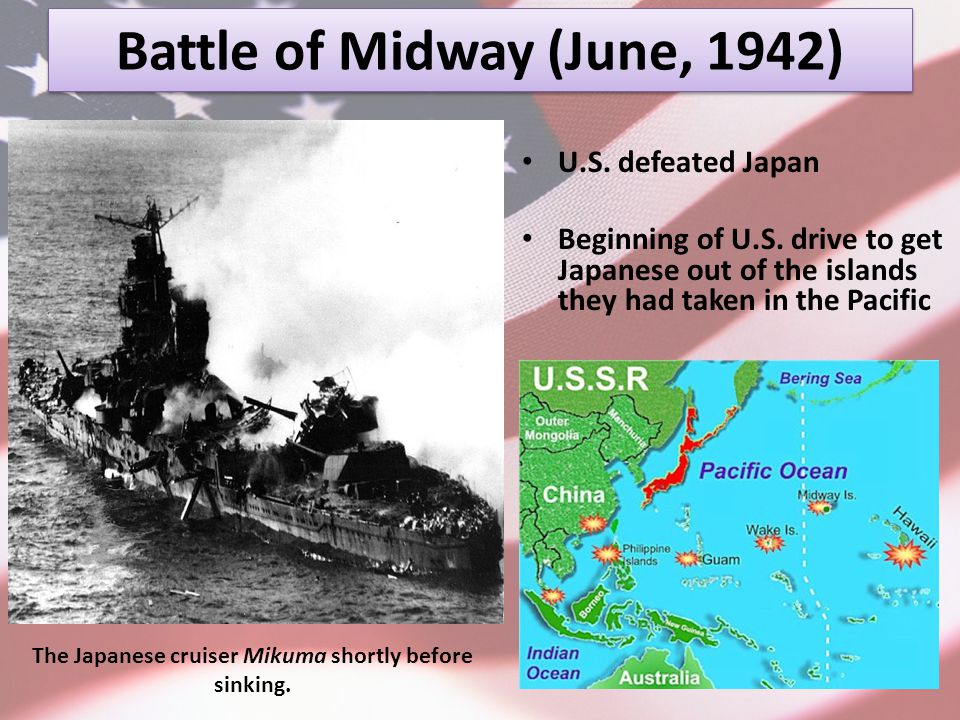 Battle of Midway (June, 1942)