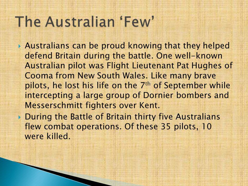 The Australian 'Few'