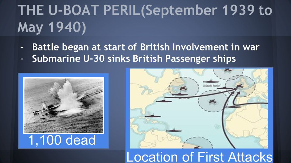 THE U-BOAT PERIL(September 1939 to May 1940)