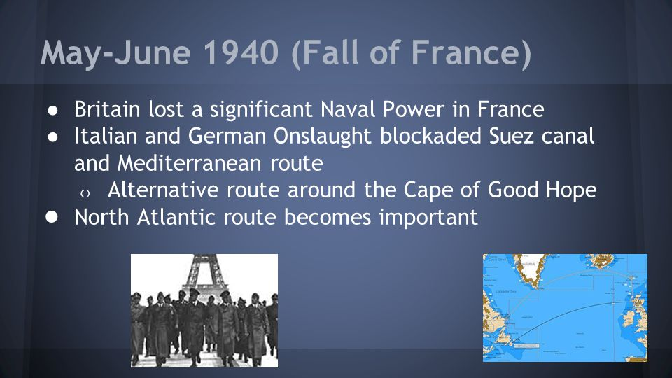 May-June 1940 (Fall of France)