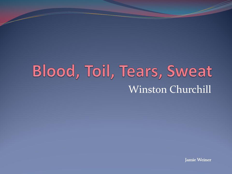 Winston Churchill Jamie Weiner