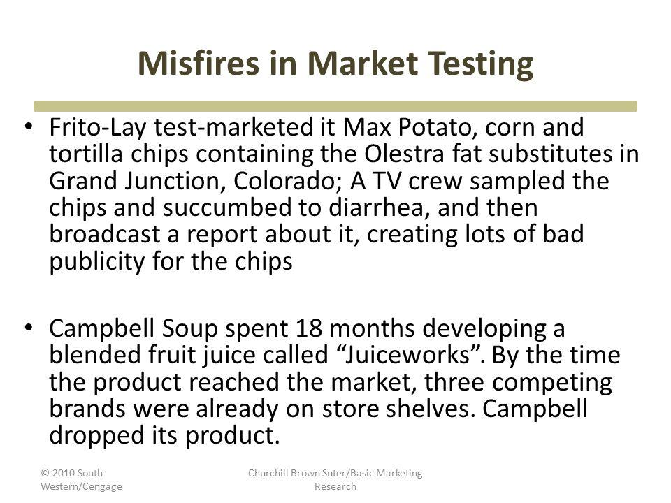 Misfires in Market Testing