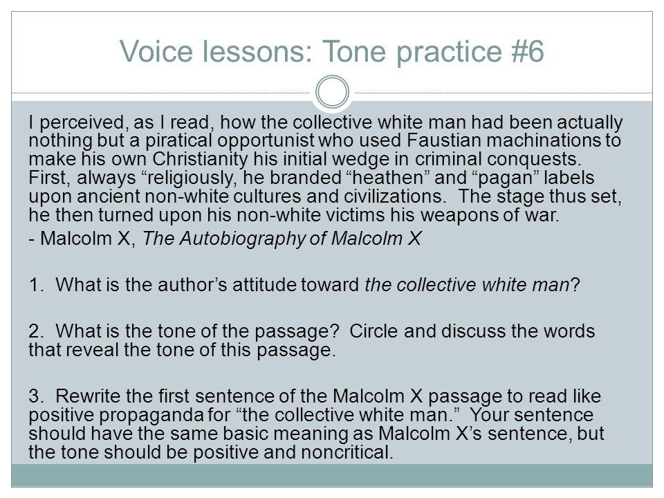 Voice lessons: Tone practice #6