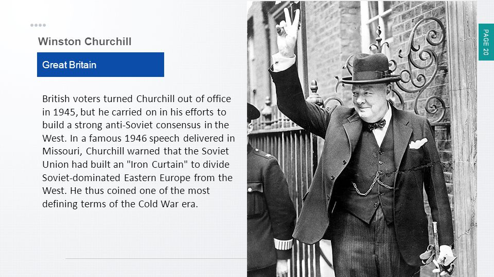 Winston Churchill Great Britain.