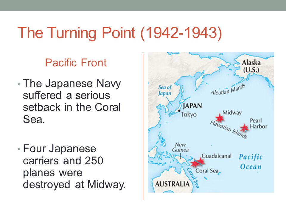 The Turning Point (1942-1943) Pacific Front