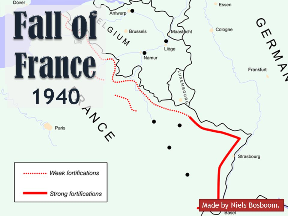 Fall of France 1940 Made by Niels Bosboom.
