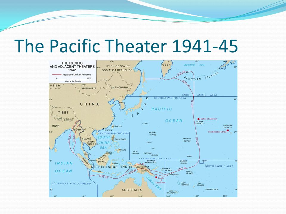 The Pacific Theater 1941-45