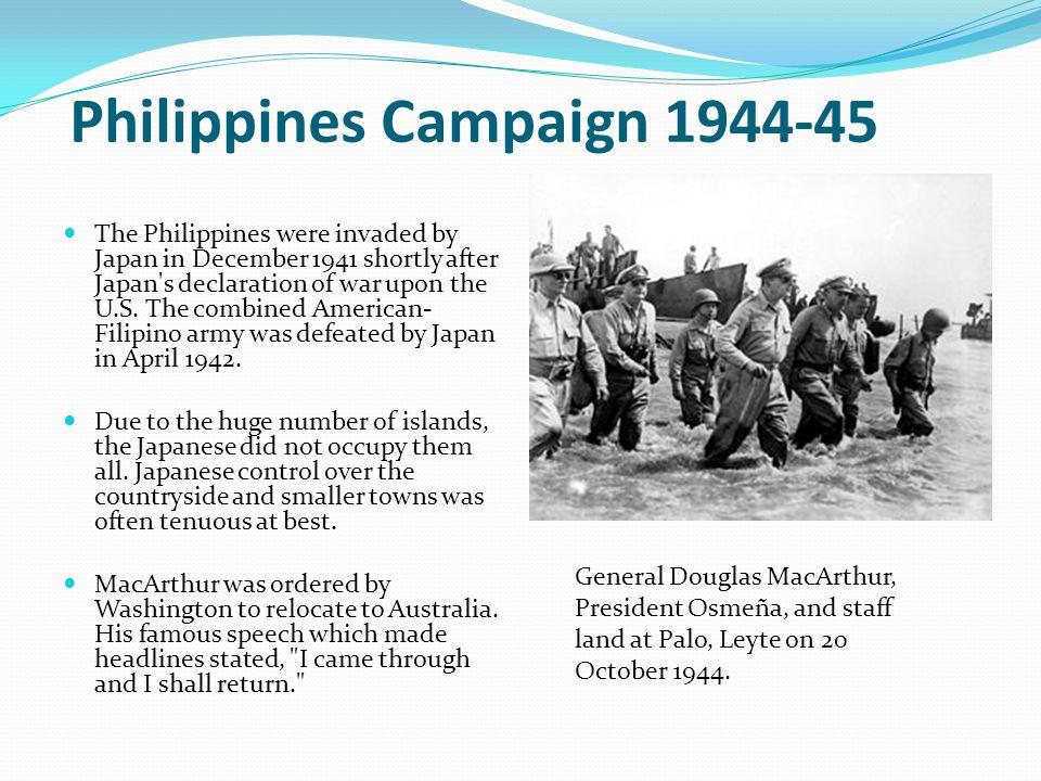 Philippines Campaign 1944-45