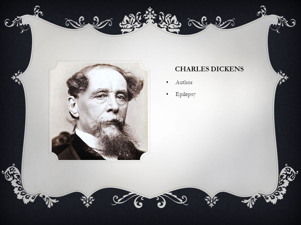 Charles Dickens Author Epilepsy
