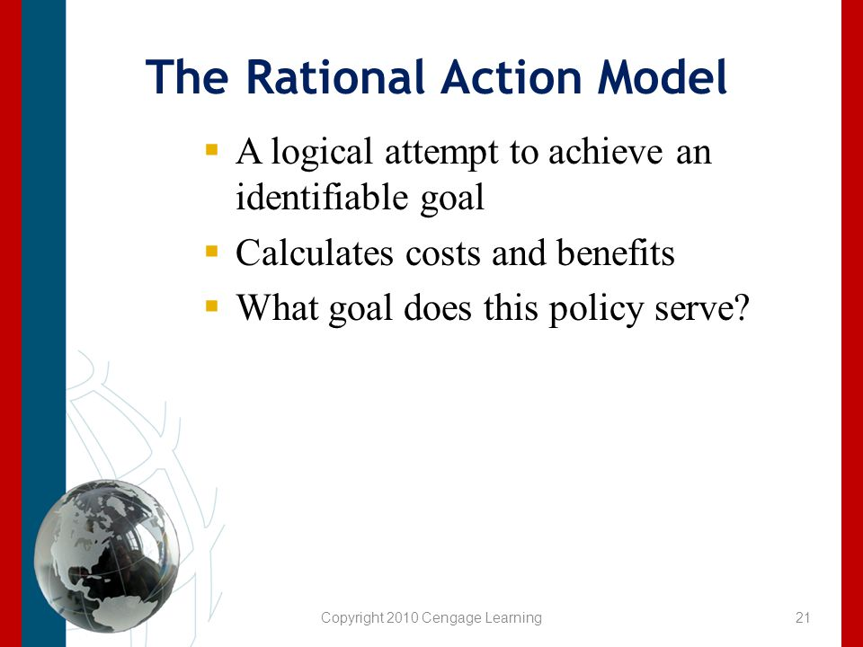 The Rational Action Model