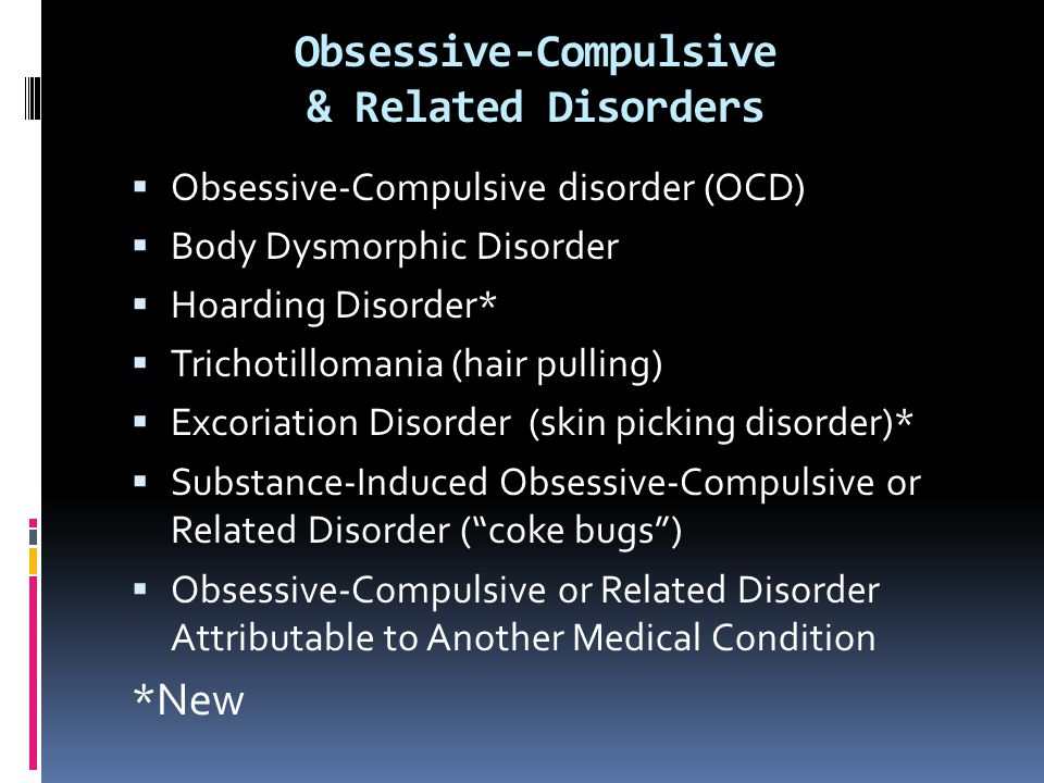 the relationship of pathologic skin picking to obsessive compulsive disorder