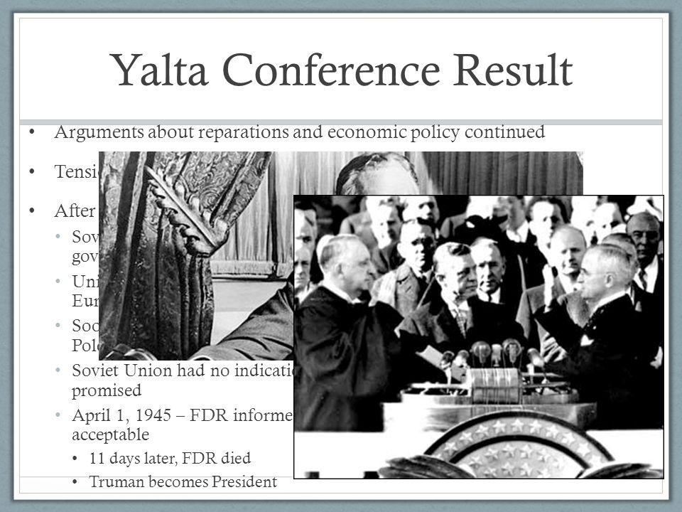 Yalta Conference Result