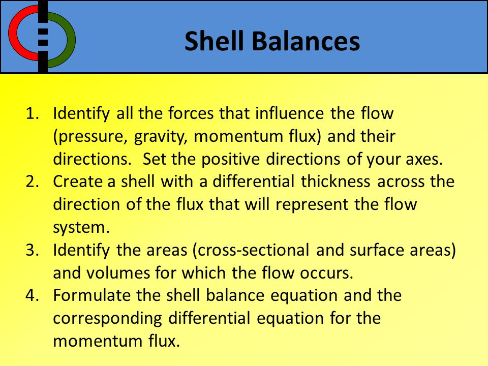 Shell Balances