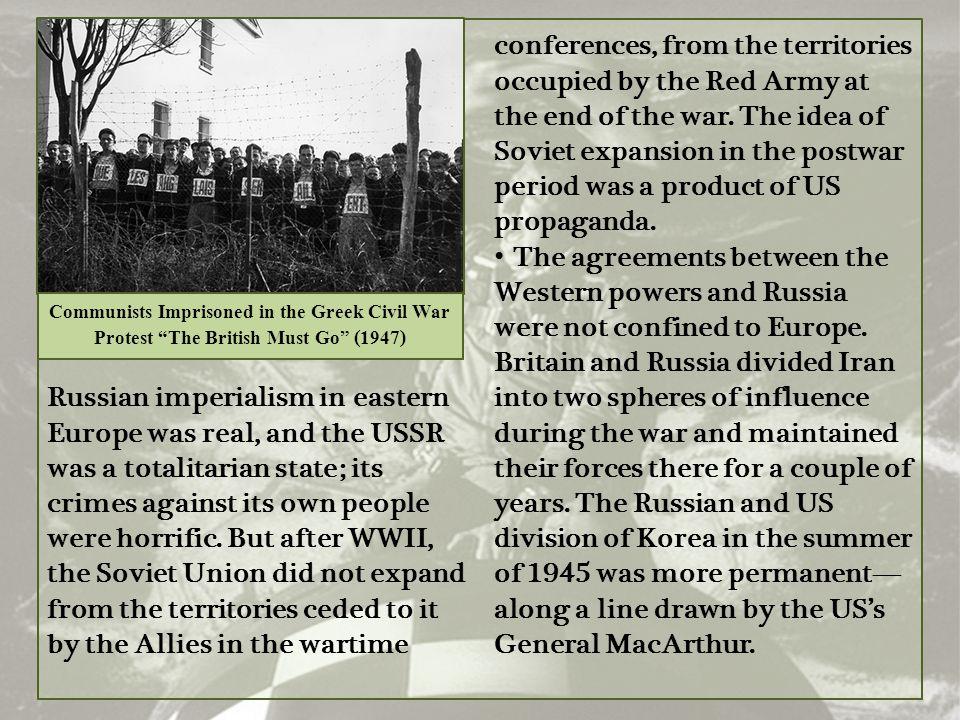 Communists Imprisoned in the Greek Civil War